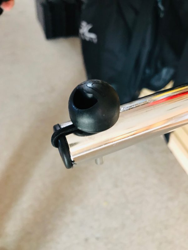 How to replace lock pins in your Hobie wheel cart