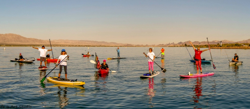 Recap of the fun and winners at the 2018 Lake Havasu Paddlefest!