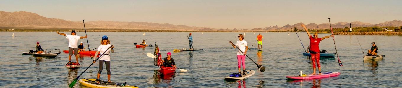 Recap of the fun and winners at the 2018 Lake Havasu Paddlefest!