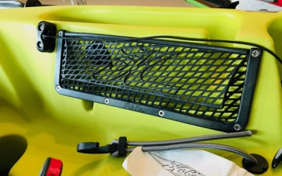 Instructions on replacing map pockets for your Hobie Kayak