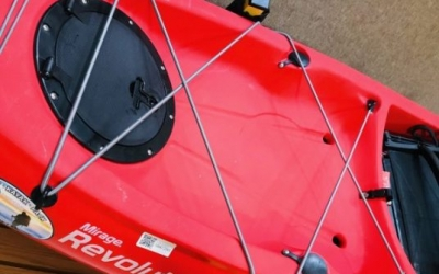 Instructions on replacing shockcord on a kayak